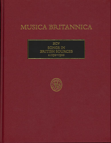 Songs In British Sources C.1150-1300