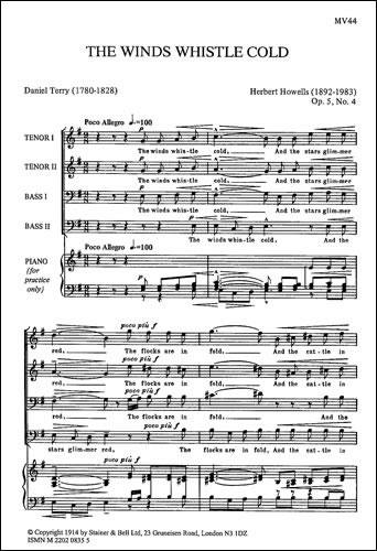 Howells, Herbert: The Winds Whistle Cold