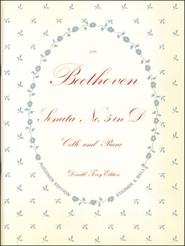 Beethoven, Ludwig Van: Sonata No. 5 In D, Op. 102, No. 2. Cello And Piano