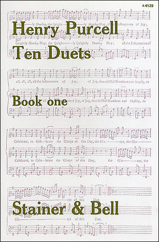 Purcell, Henry: Vocal Duets. Book 1