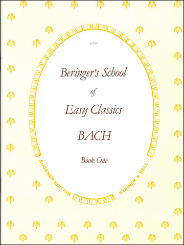 Bach, Johann Sebastian: Easy Pieces. Book 1