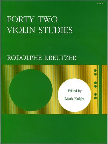Kreutzer, Rudolphe: Forty-two Studies
