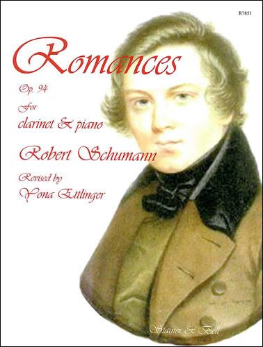 Schumann, Robert: Romances, Op. 94, For Clarinet And Piano