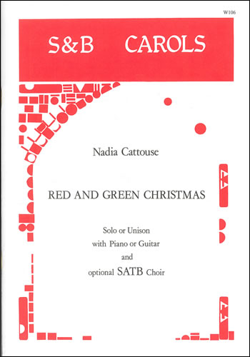 Cattouse, Nadia: Red And Green Christmas