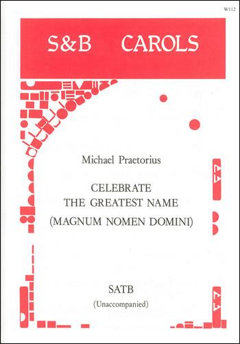 Praetorius, Michael: Celebrate The Greatest Name