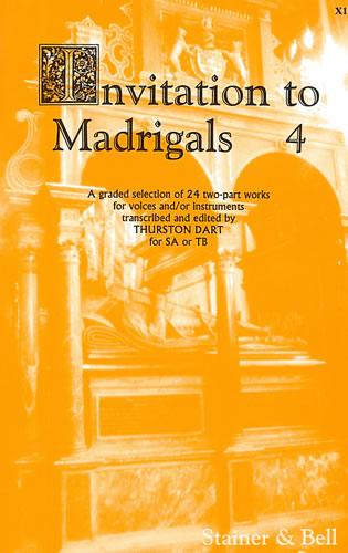 Invitation To Madrigals Book 4