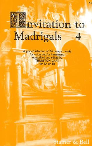 Invitation To Madrigals Book 4