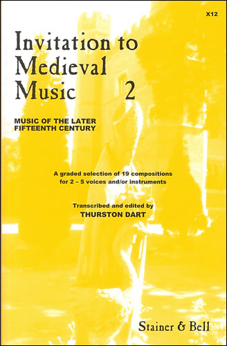 Invitation To Medieval Music Book 2