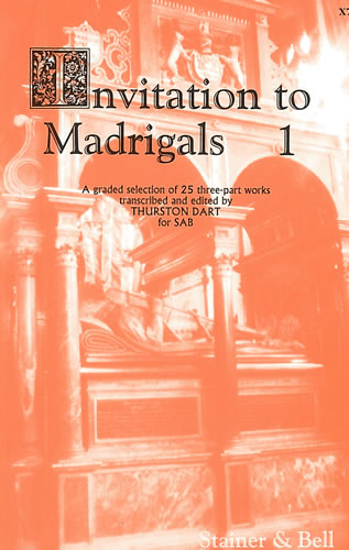 Invitation To Madrigals Book 1