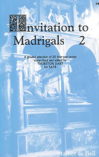 Invitation To Madrigals Book 2