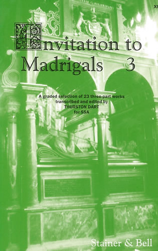 Invitation To Madrigals Book 3