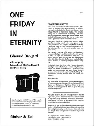 Banyard, Edmund: One Friday In Eternity