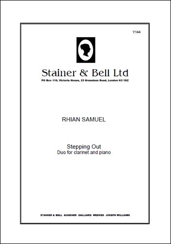 Samuel, Rhian: Stepping Out For Clarinet And Piano