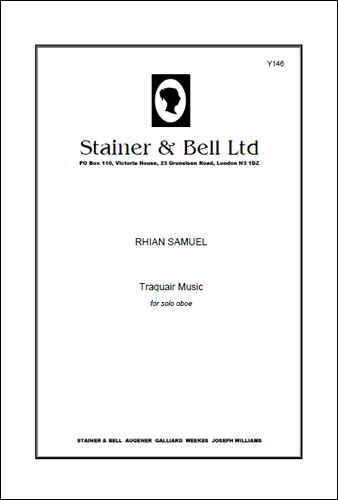 Samuel, Rhian: Traquair Music For Solo Oboe