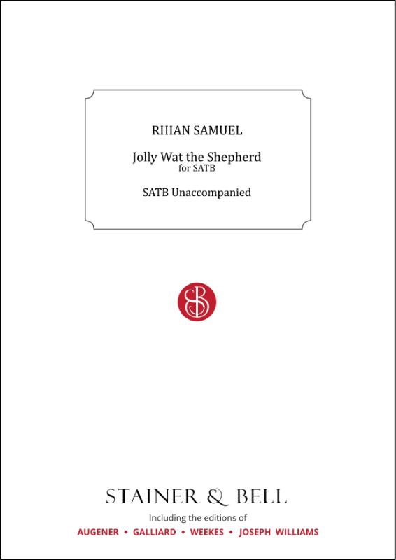 Samuel, Rhian: Jolly Wat The Shepherd