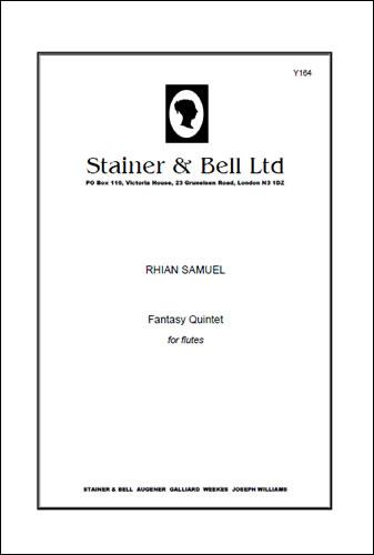 Samuel, Rhian: Fantasy Quintet For Flutes