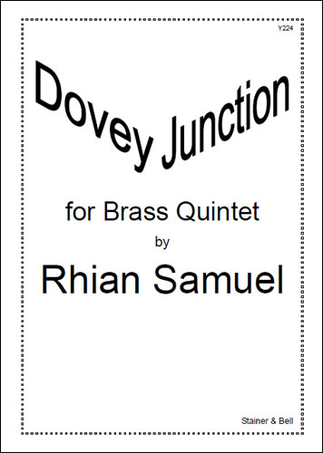 Samuel, Rhian: Dovey Junction For Brass Quintet