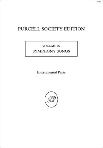 Purcell, Henry: Symphony Songs. Instrumental Parts