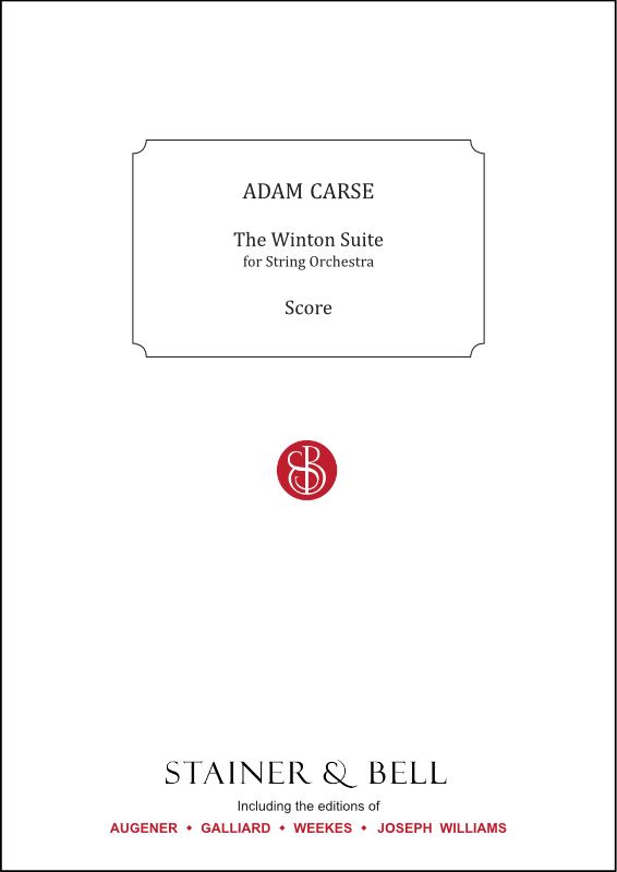 Carse, Adam: The Winton Suite. Score