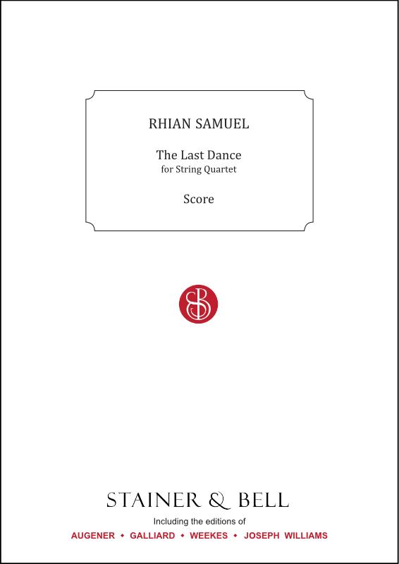 Samuel, Rhian: The Last Dance