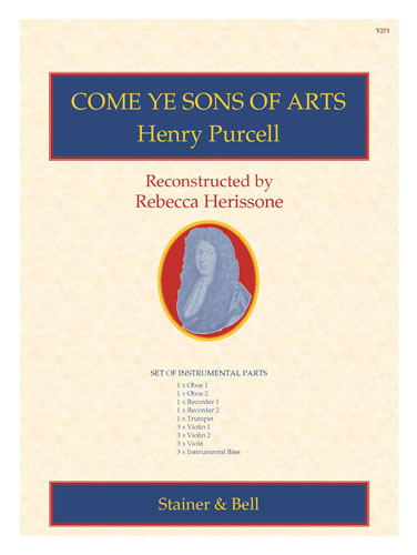 Purcell, Henry: Come Ye Sons Of Arts. Set Of Parts