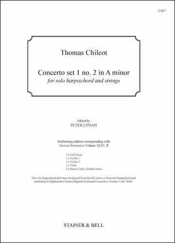 Chilcot, Thomas: Concerto Set 1 No. 2 In A Minor