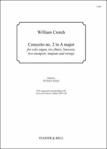 Crotch, William: Concerto No. 2 In A Major