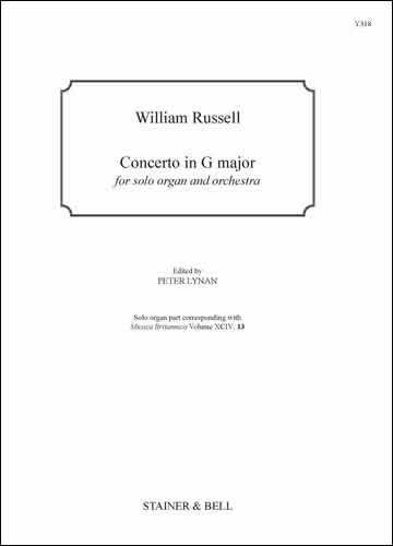 Russell, William: Concerto In G Major