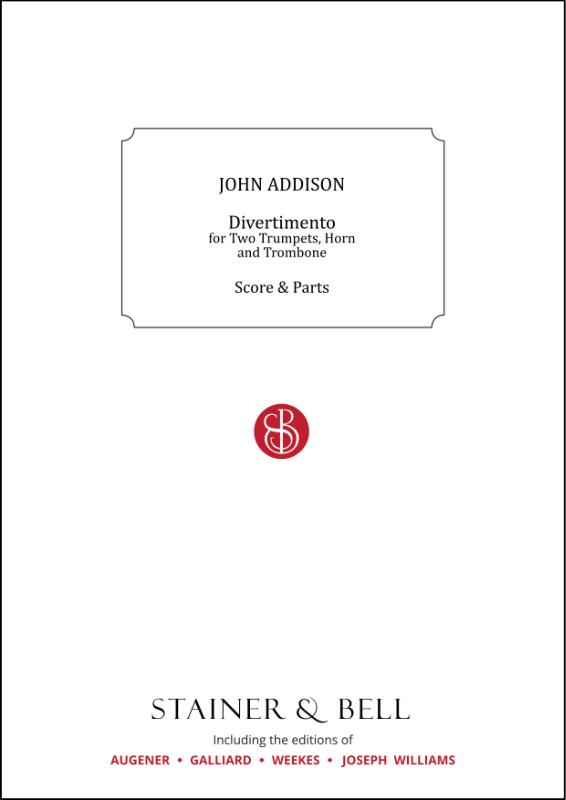 Addison, John: Divertimento For Brass