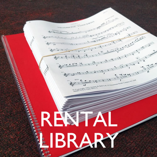 Wishart, Peter: Five Psalms. Rental