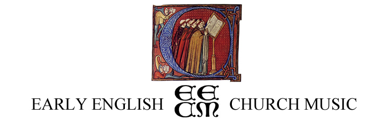 Early English Church Music