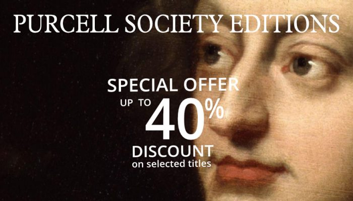 Purcell Society Editions Sale