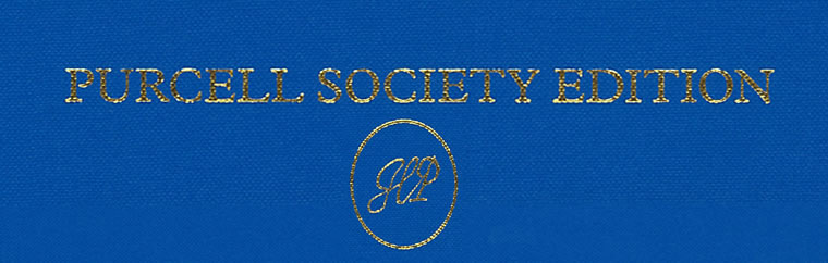 Purcell Society Edition