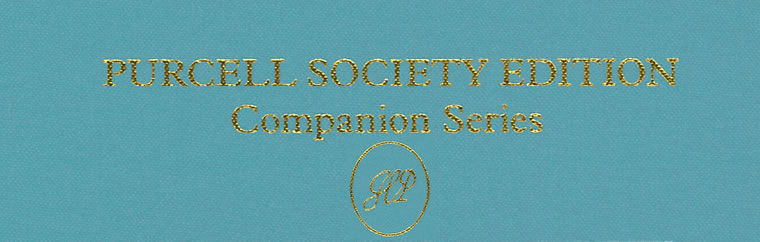 Purcell Society Companion Edition