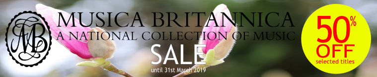 Musica Britannica Winter Sale